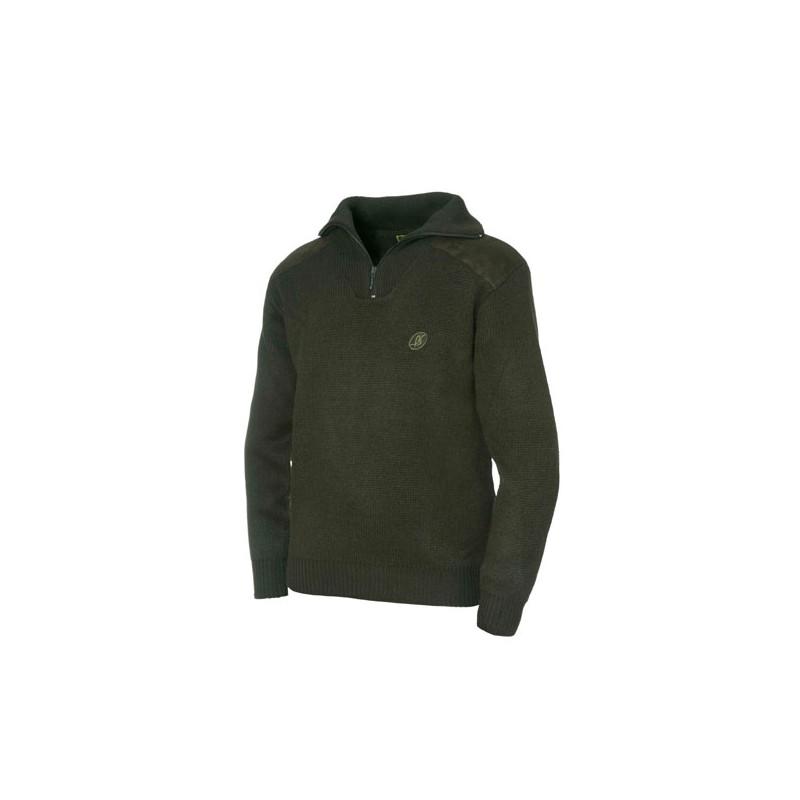 ce78ac6e Jersey Benisport niño lana verde, de 9 a 10 años, talla 2