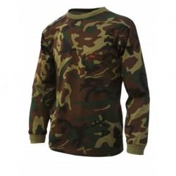 camiseta benisport ref.433 manga larga camuflaje NIÑO