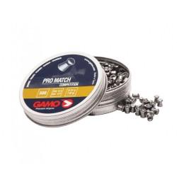Balines gamo PRO-MATCH 4,5 mm 500 und.