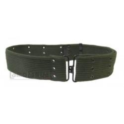 Cinturon Verde Oliva drab militar hebilla metalica