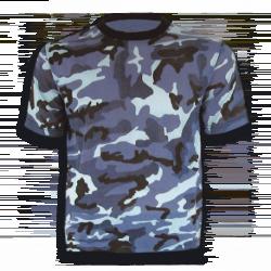 Camiseta BARBARIC CAMU NAVY