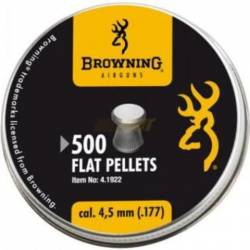 BALINES BROWNING FLAT PELLETS 4,5 MM