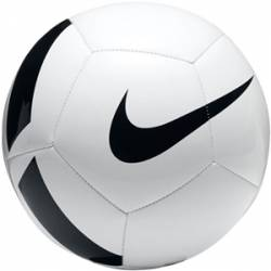 BALON NIKE NK PITCH TEAM 5 WHITE/BLACK